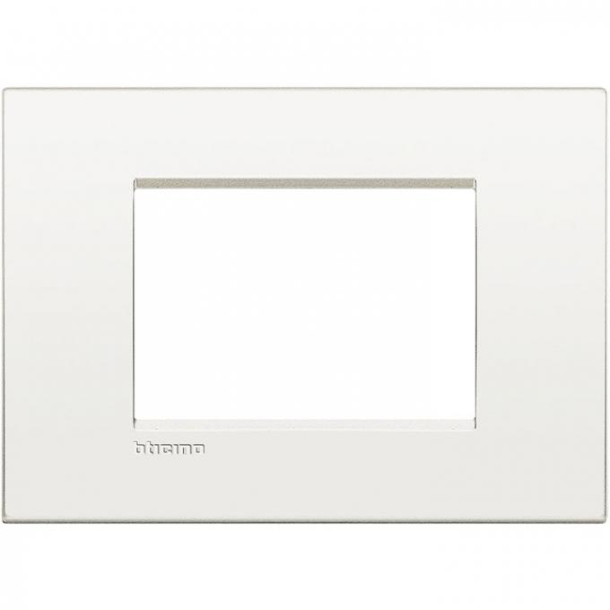 LNC4803BN air  bticino placca  3 posti colore bianco  puro