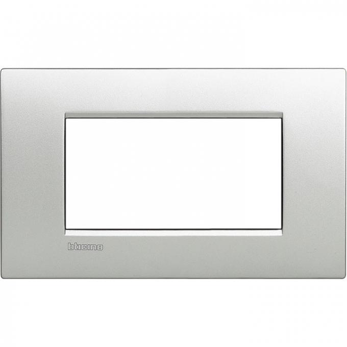 LNC4804TE air  bticino placca 4 posti tech colore alluminio