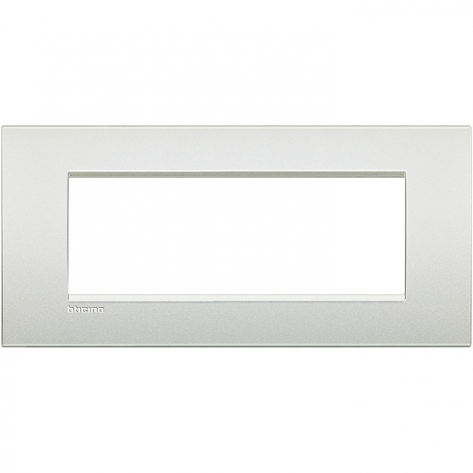 LNC4807PR air  bticino placca 7 posti  colore bianco perla
