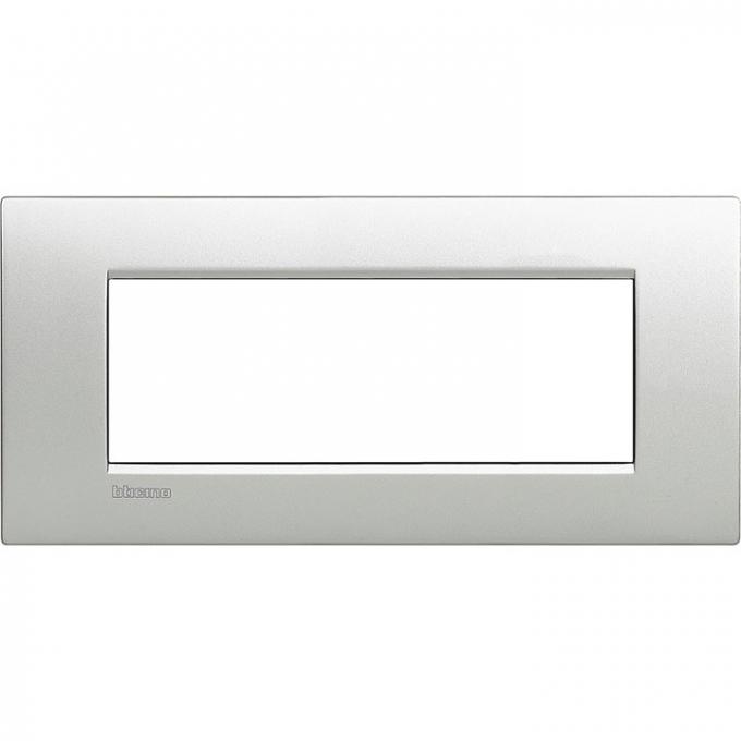 LNC4807TE air  bticino placca 7 posti tech colore alluminio