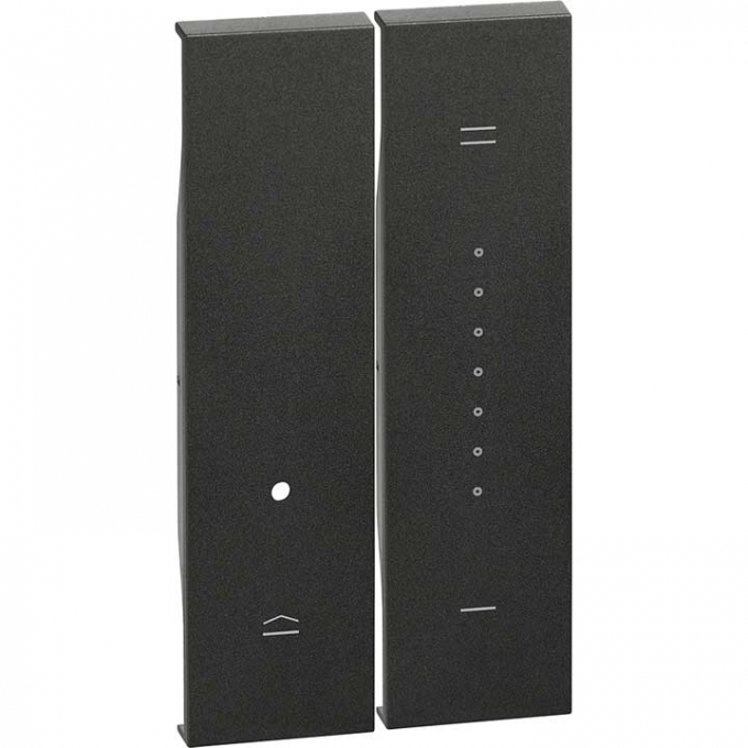 KG19 Cover per dimmer living now nero bticino