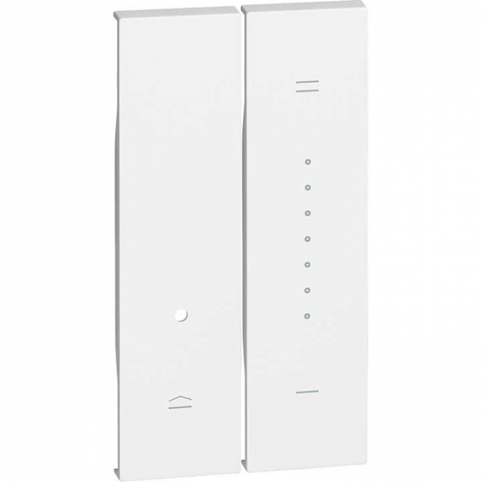 KW19 Cover per dimmer living now bianco bticino