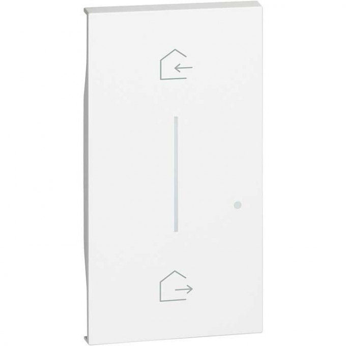 KW40M2 Cover simbolo entra & esci wireless living now bianco bticino