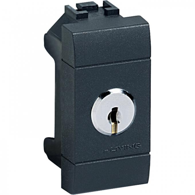 Deviatore unipolare bticino living international 1 modulo 16a con chiave l4022