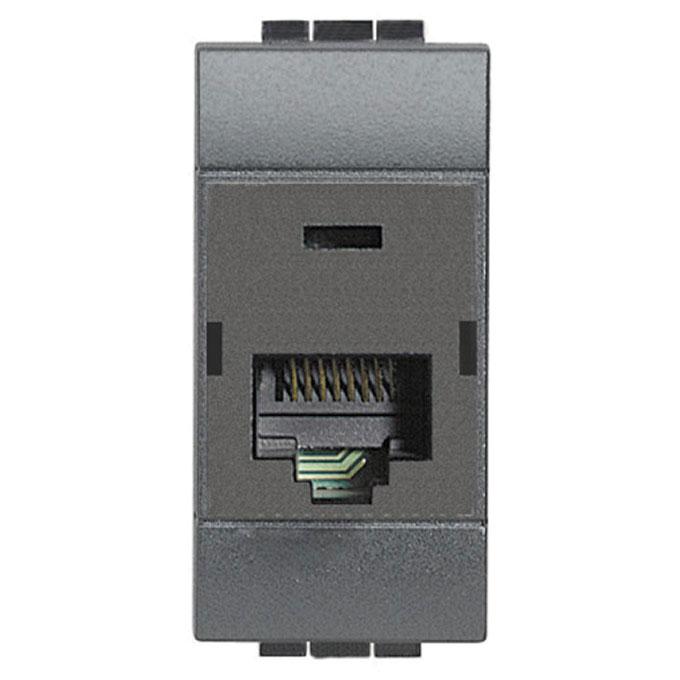 L4262C5E connettore rj45 livinglight bticino