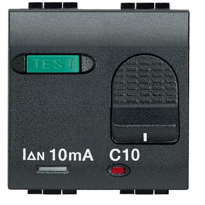 L4305-6 living international bticino magnetotermico differ 6 ampere