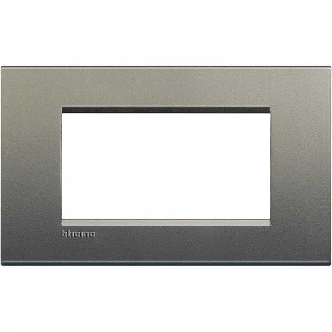 LNA4804AE living international bticino   placche    grigio  4  posti