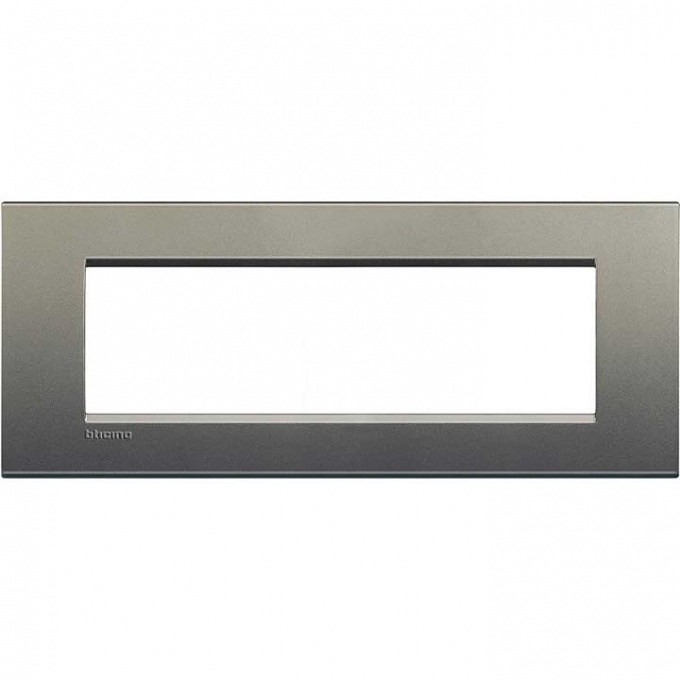 LNA4807AE living international bticino placche grigio 7 posti