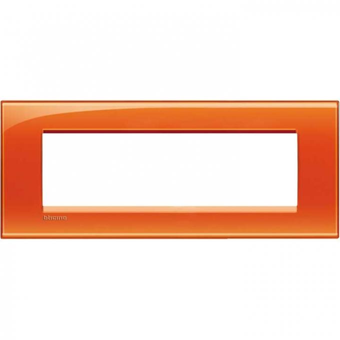 LNA4807OD living international bticino placche  arancione 7  posti