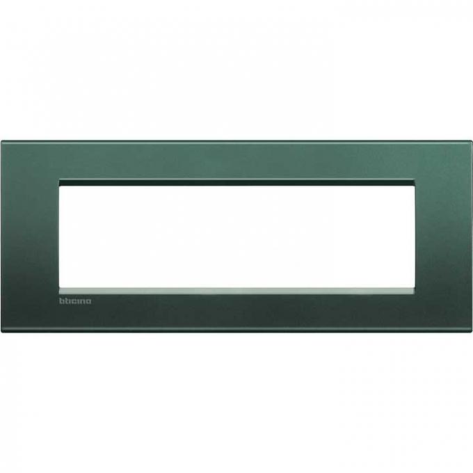 LNA4807PK living international bticino placche  verde 7 posti