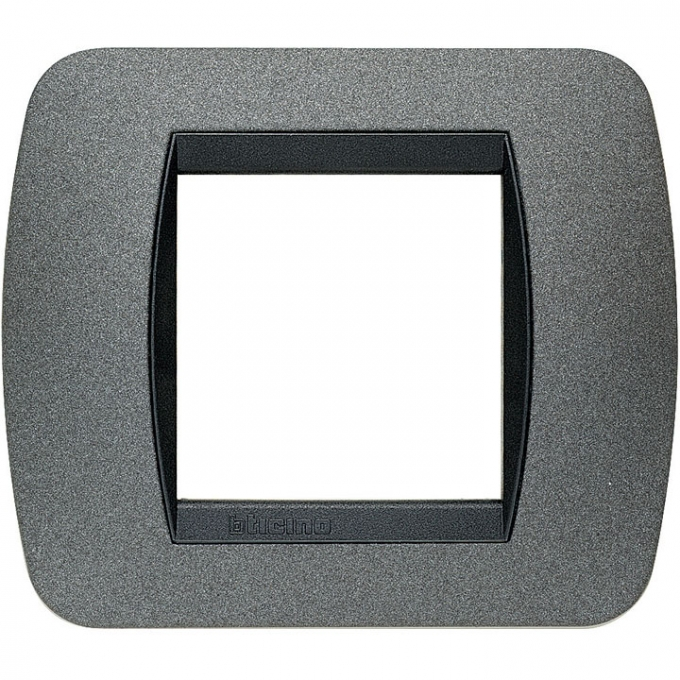 L4802GF living international bticino placche grigio 2 posti