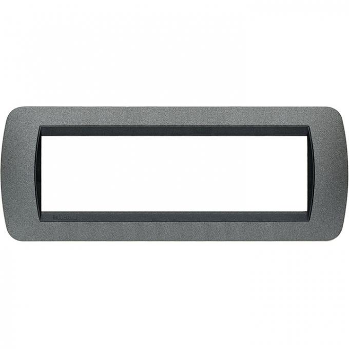 L4807GF living international bticino placche grigio 7 posti