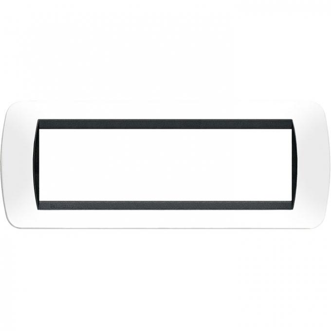 L4807PB living international bticino placche bianco 7 posti