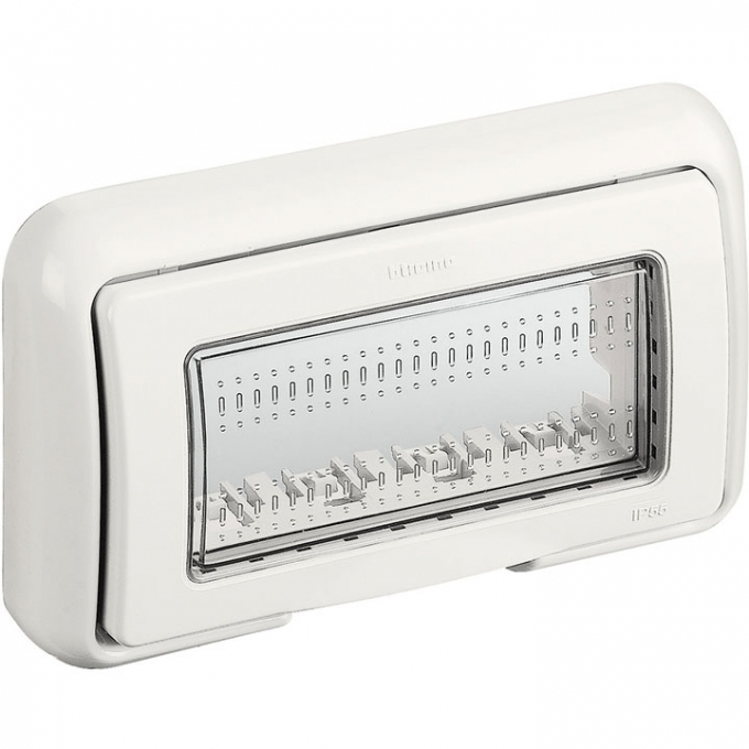 25604B matix bticino coperchio idrobox ip55 4 posti colore bianco