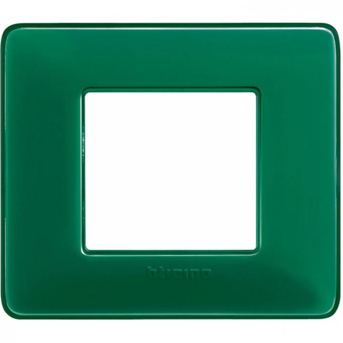 AM4802CVS matix bticino placca 2 moduli colore smeraldo