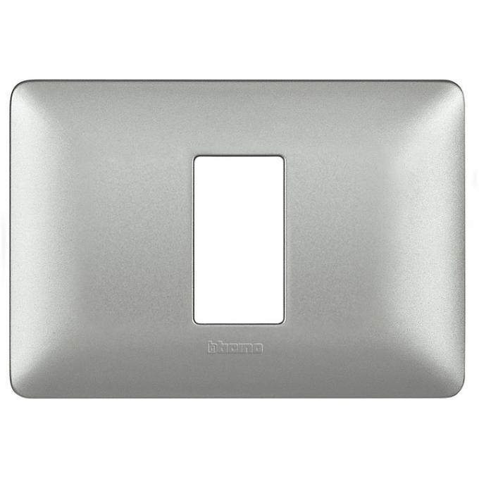 AM4803M1MSL matix bticino placca modulo 530 1 polo colore silver