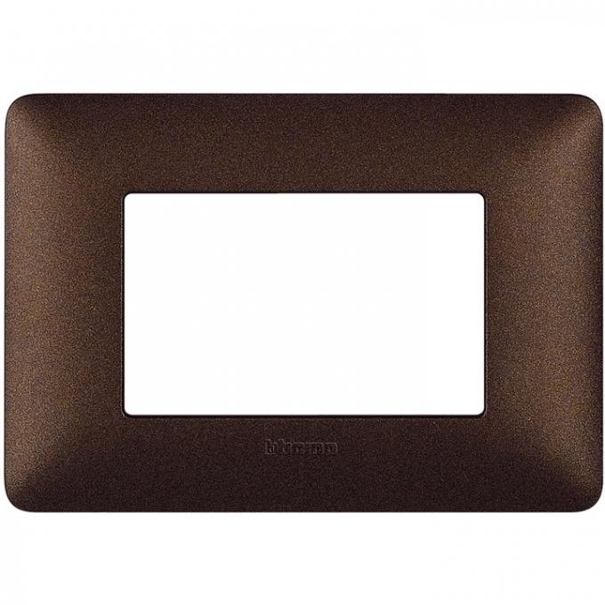 AM4803TGG matix bticino placca 3 poli colore marrone caffè