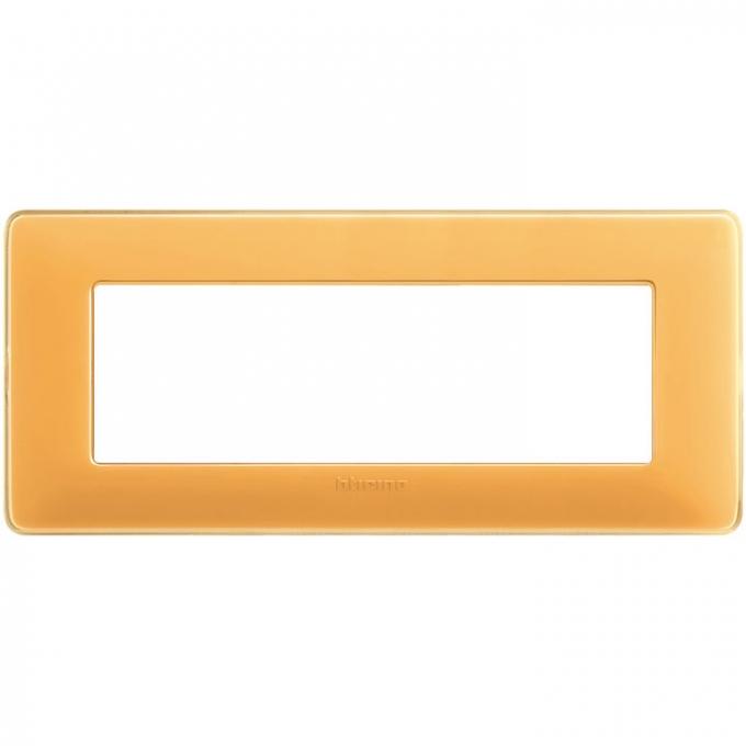 AM4806CAB matix bticino placca 6 moduli colore ambra