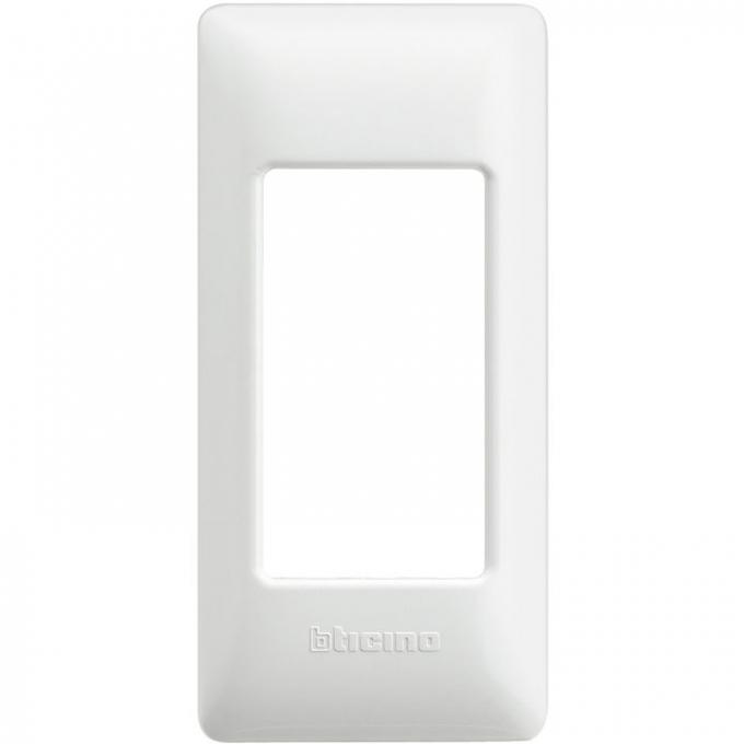 AM4811/1BN matix bticino placca per profilati 1 polo colore bianco
