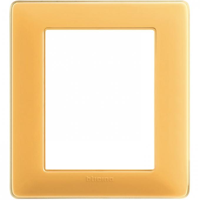 AM4826CAB matix bticino placca 3+3 poli colore ambra