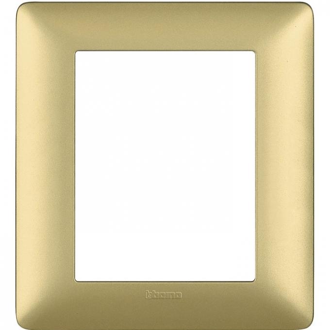 AM4826MGL matix bticino placca 3+3 poli gold