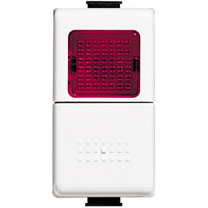AM5057R matix bticino pulsante 1 polo no spia rossa