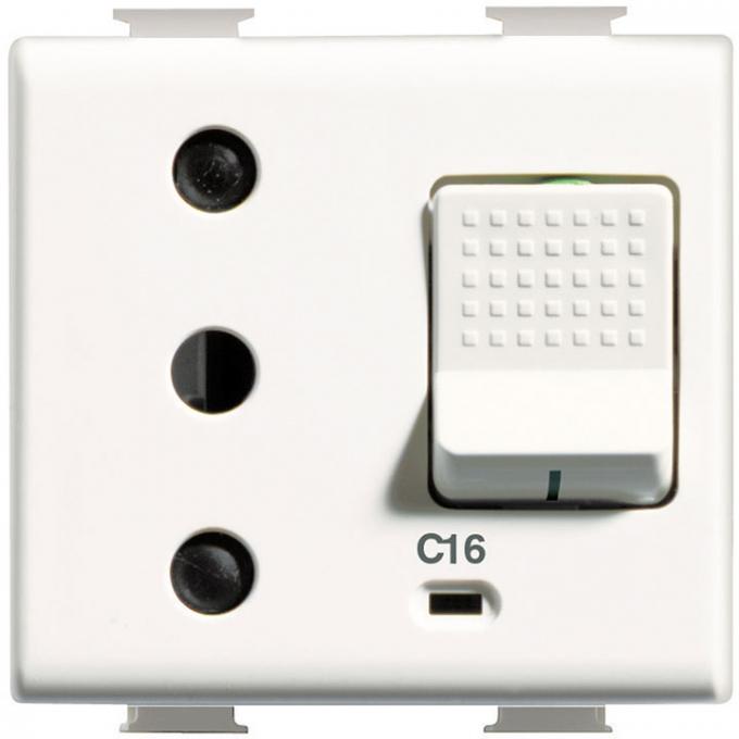 AM5130 matix bticino  presa sicura 16 ampere