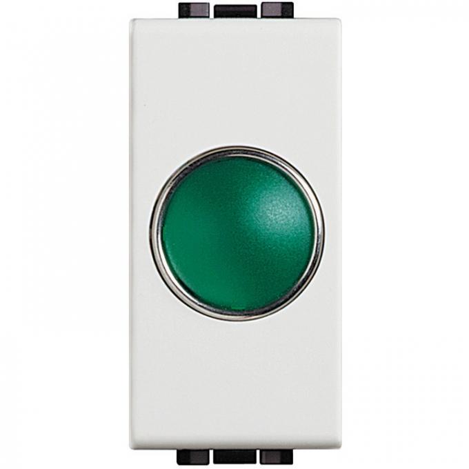 N4371V living light bticino portalampada spia verde