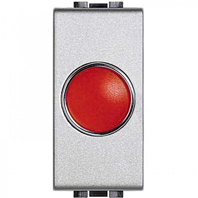 NT4371R living light tech bticino portalampada spia rossa