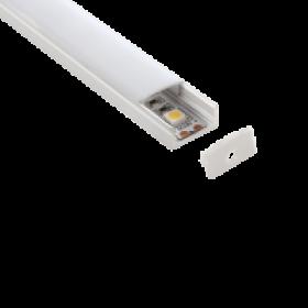 Lampo diffusore policarbonato opaco 2 m spessore 3 mm