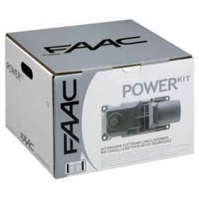 Motori Per Cancelli A Due Ante Faac.106746445 Faac Power Kit Green Con 2 Attuatori Motore Interrato Per Cancello A Battente