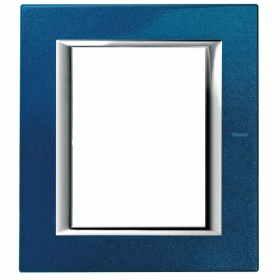 HA4826BM placche axolute bticino colore blu meissen 6 posti