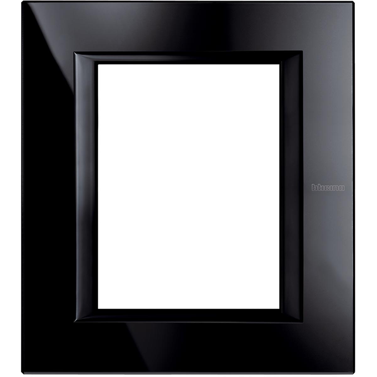 HA4826VNB axolute bticino placche vetro nighter 6 posti