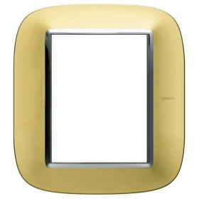 HB4826OS axolute bticino placche oro satinato 6 posti