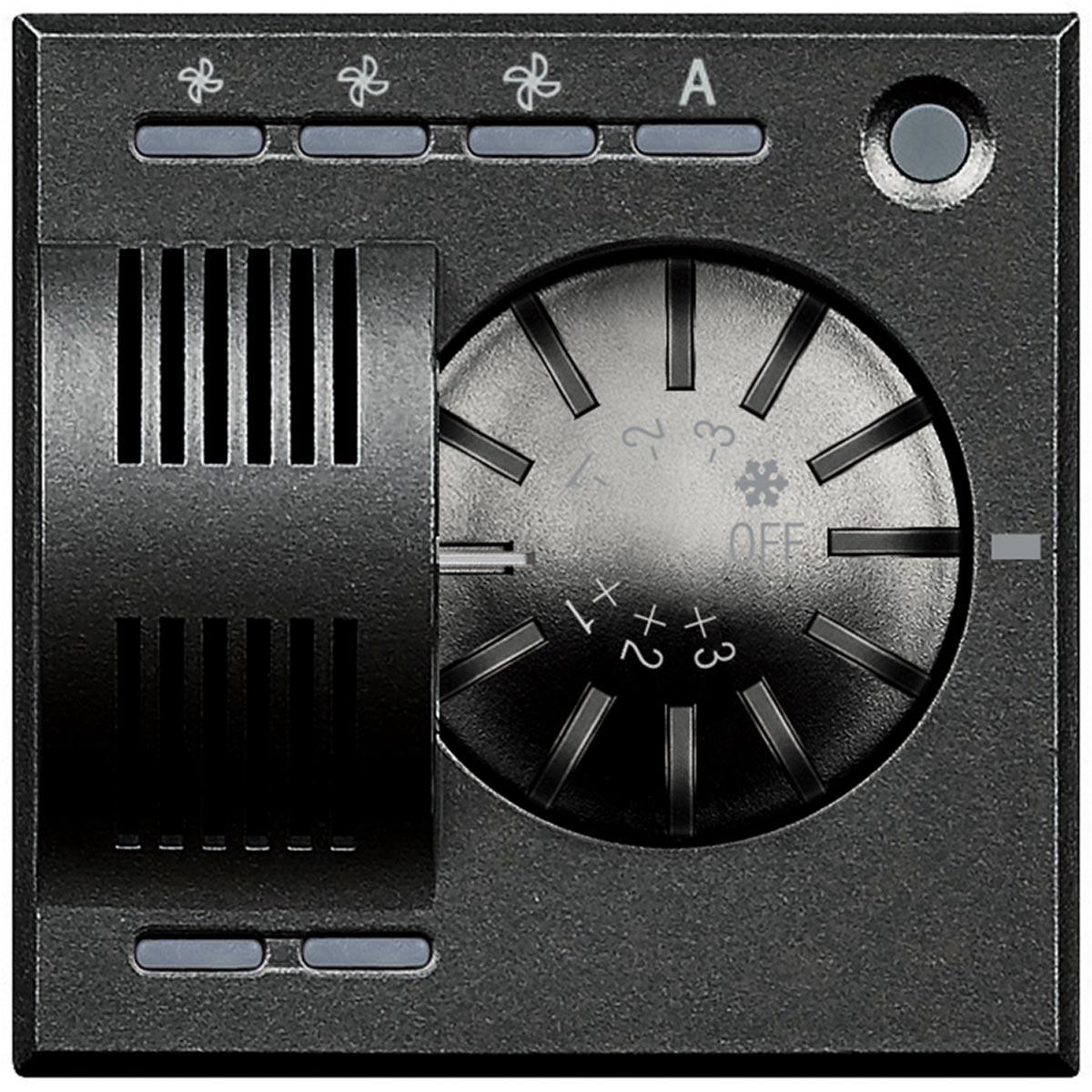 HS4692FAN axolute bticino termostato ambiente scura