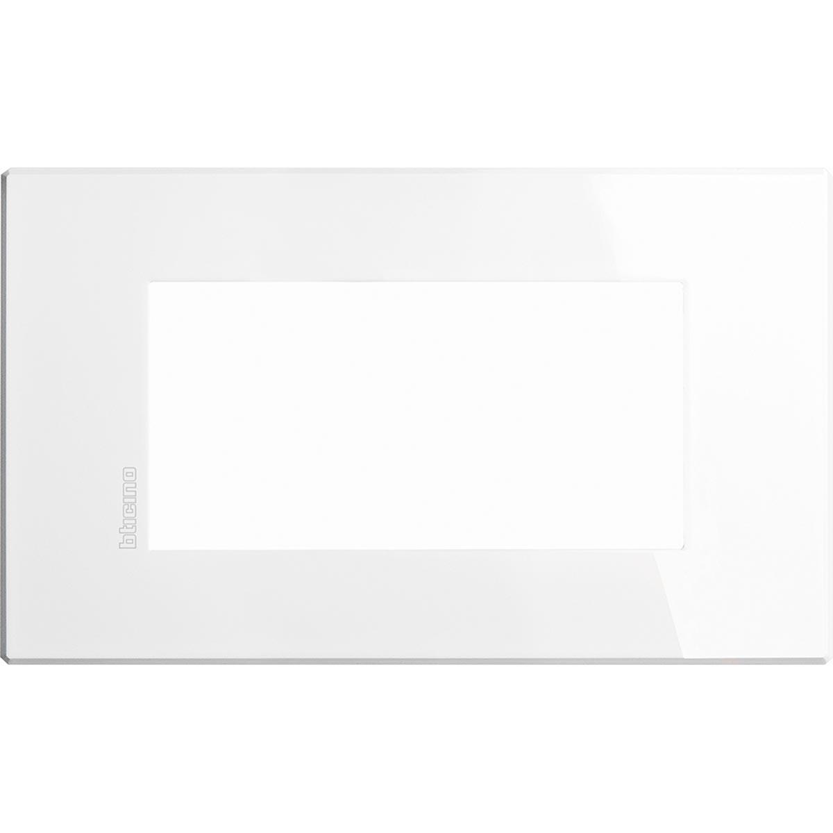 HW4804HD axolute bticino placche air bianca 4 posti