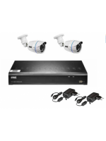 Urmet 1097/800 kit videosorveglianza tvcc con hvr ahd 4 canali 1080n
