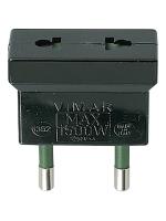 01352 vimar adattatore s10/usa+eu colore nero