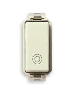 08235 vimar eikon-arkè-plana pulsante 1 modulo no 10a generico colore bianco