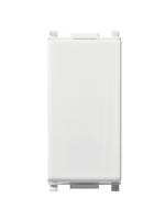 14000 plana vimar interruttore 1 modulo 10ax colore bianco