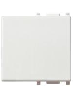 14022 plana vimar tasto 2 poli illuminabile ad anello colore bianco