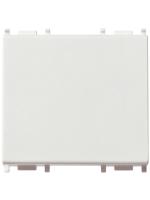 14023 plana vimar tasto 3 poli illuminabile ad anello colore bianco