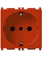 14209.r vimar presa 2p+t 16a p30 rosso