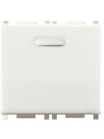 14390 vimar eikon-arkè-plana lamapada segnapasso 230v colore bianco