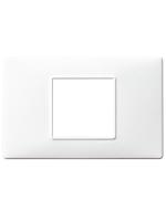 14652.01 plana vimar placca 2 posti centrali colore bianco