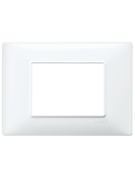 14653.01 plana vimar placca 3 posti colore bianco