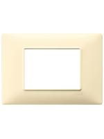 14653.04 plana vimar placca 3 posti colore crema