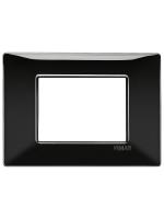 14653.05 plana vimar placca 3 posti colore nero