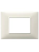 14653.06 plana vimar placca 3 posti colore bianco granito