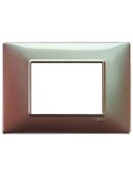 14653.23 plana vimar placca 3 posti colore marrone